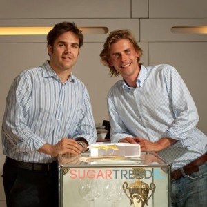 Die Gründer von SugarTrends: Christian Schwarzkopf und Tim Lagerpusch