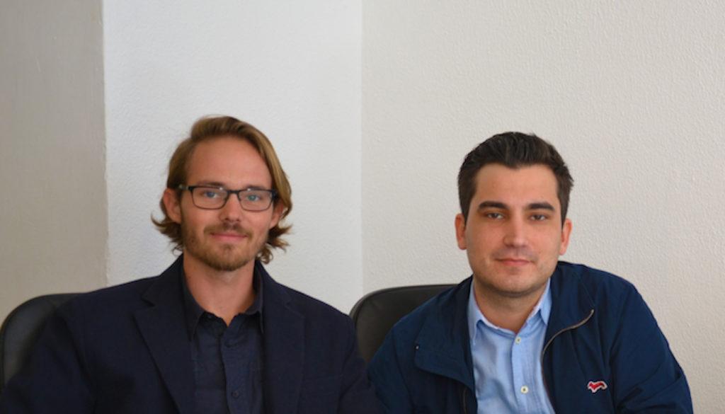 Die manugoo Gründer Florian Meise und Janosch Gößling