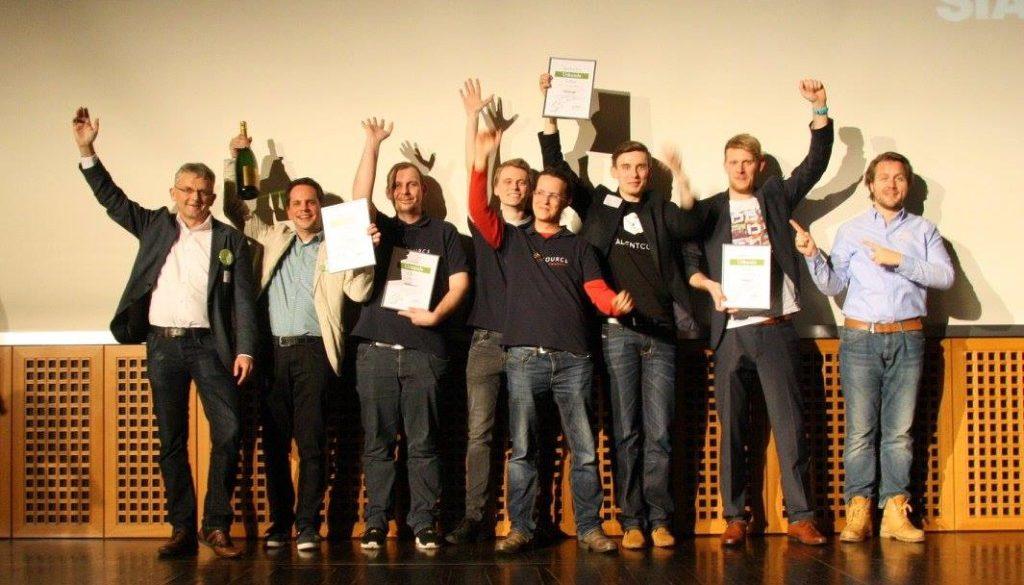 Die Sieger des Rheinland-Pitch Winter Finales 2015