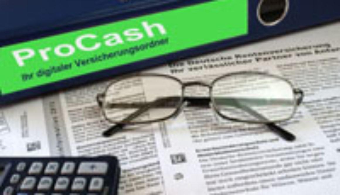 Pro-Cash der digitale Versicherungsordner